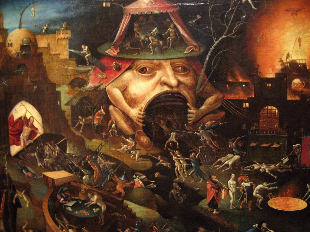 """Hieronymus Bosch - """"A Violent Forcing of the Frog"""""""