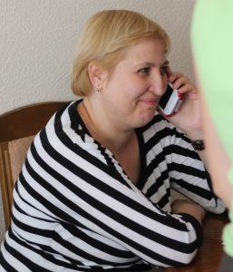 Беседа по телефону