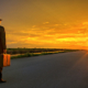 Man on the Road. © Copyright All rights reserved by AdamBaronPhoto