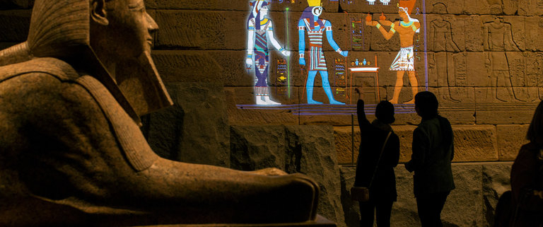 Temple of Dendur's Lost Colors Brought to Life at the Met