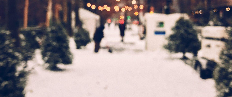 Рождество. Нью-Йорк