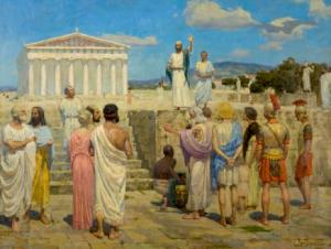 Апостол Павел в Афинах