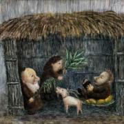Художник – Ирина Литманович. Серия иллюстраций к еврейским праздникам.